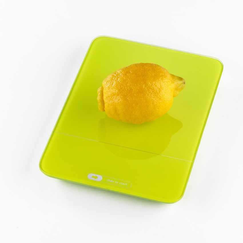 BI100IPA - Bilancia cucina digitale led TOUCH BALANCE colorata idea regalo - promozione
