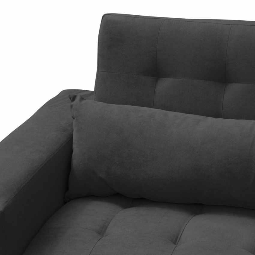 Divano letto 2 3 posti con schienale reclinabile e cuscini matrimoniale quarzo p ebay - Schienale divano letto ...