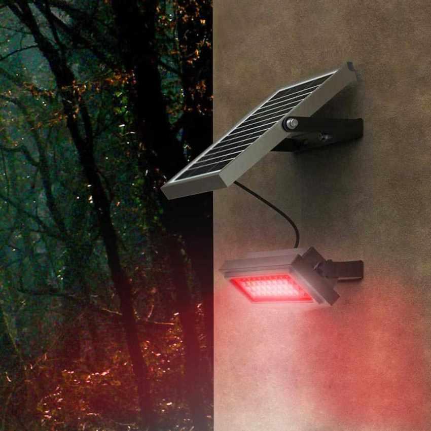 Faro a Muro LED a Energia Solare Multicolore RAINBOW - scontato
