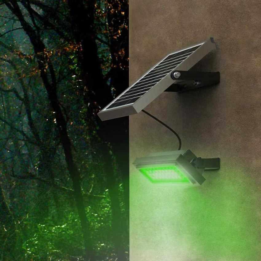 Faro a Muro LED a Energia Solare Multicolore RAINBOW - promo