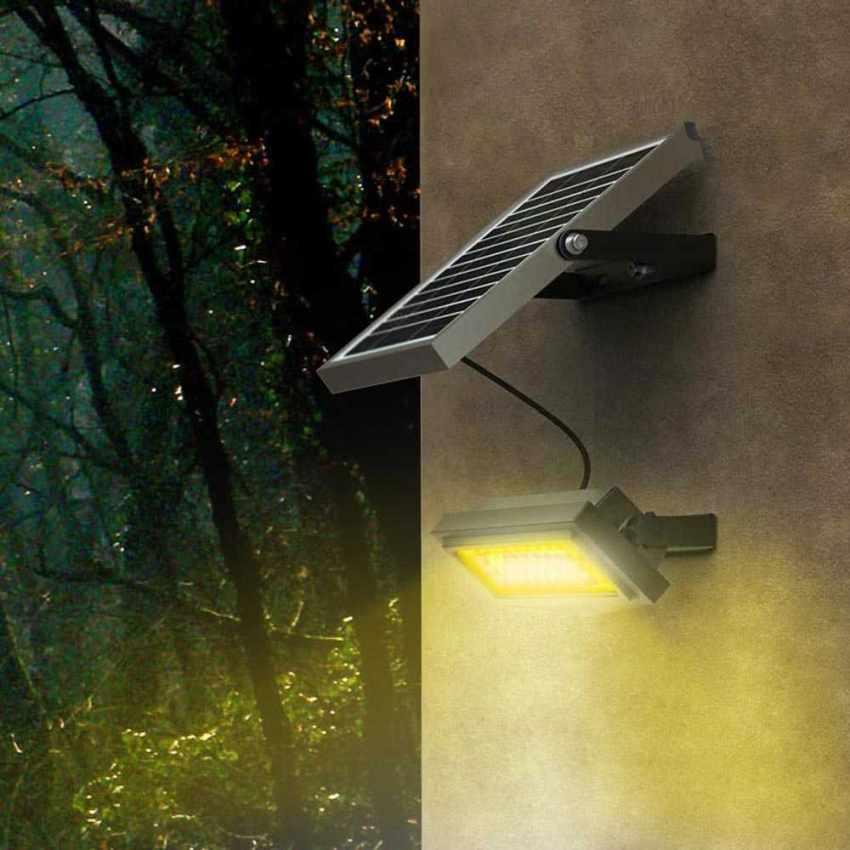 Faro a Muro LED a Energia Solare Multicolore RAINBOW - vendita
