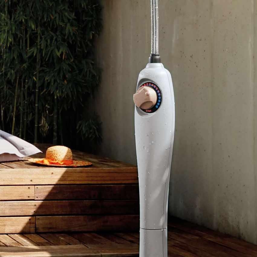 GF8000 - Doccia Solare Riscaldata Portatile per Piscina Giardino SUNNY - offerta