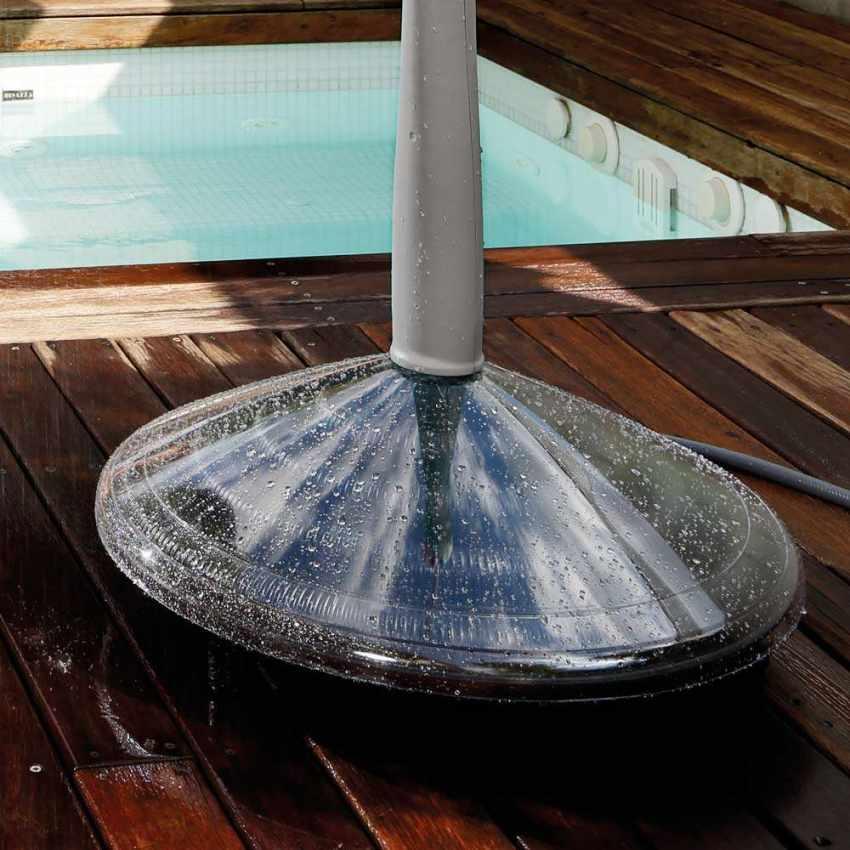 GF8000 - Doccia Solare Riscaldata Portatile per Piscina Giardino SUNNY - basso prezzo