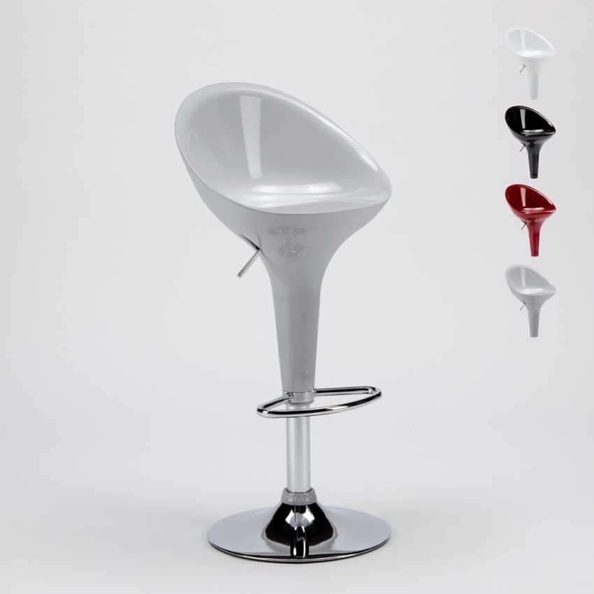 Sgabello Girevole dal Design Moderno per Bar Cucina Altezza ...