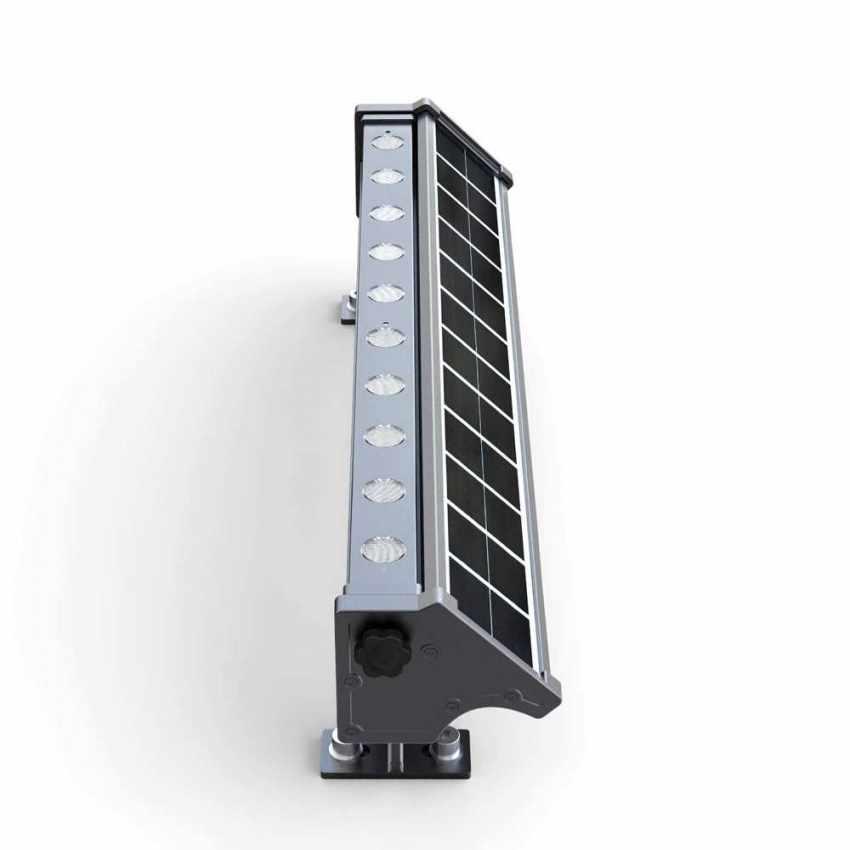 LI010LED - Lampada Solare a luci Led illuminazione per cartelloni pubblicitari e parete BILLBOARD - beige