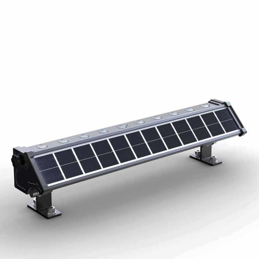 Luce LED Solare Illuminazione Pareti Esterne e Cartelloni BILLBOARD - scontato