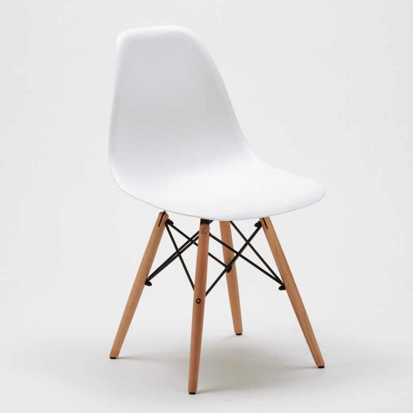 Sedia di Design per Cucina Salotto e Bar DSW WOODEN - interno