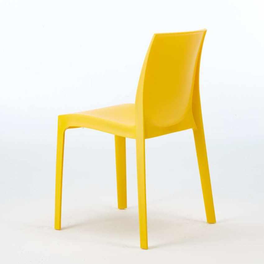 Offerta 22 Sedie in Polipropilene Impilabili per Bar Ristorante ROME Grand Soleil - prezzo