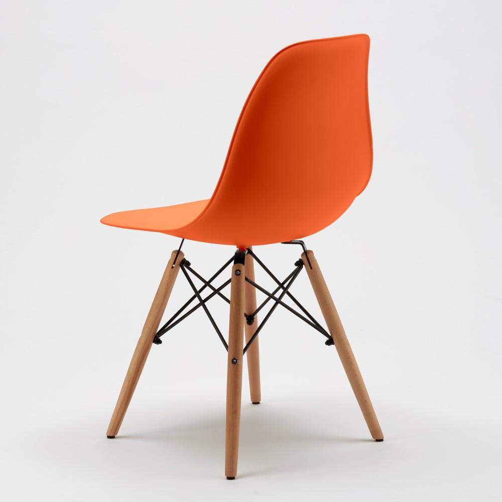 Sedie wooden eiffel design cucina bar sala d 39 attesa gambe for Sedie design ebay