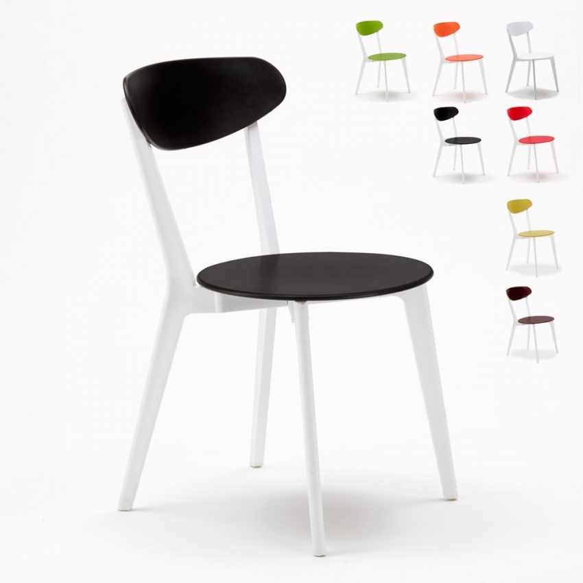 Set di 4 sedie da cucina per bar ristorante trattoria cuisine for Vendita sedie cucina on line