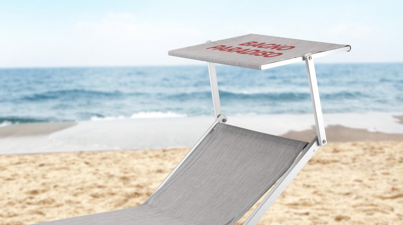 Lettini Mare e Spiaggia Personalizzati: scopri il nostro servizio per stabilimenti balneari, piscine e hotel.