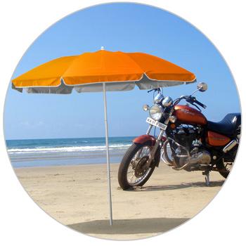 Ombrellone Da Spiaggia Pieghevole.Pocket Ombrellone Mare Spiaggia Portatile Moto Leggero 180cm