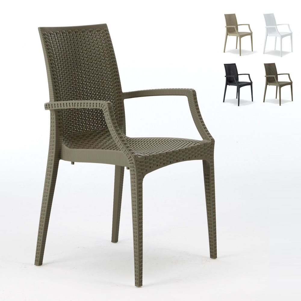 sedie con braccioli Bistrot Grand Soleil