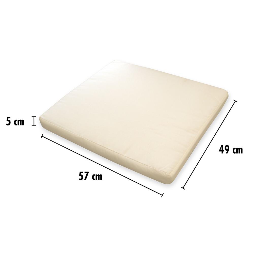 cuscino poltrona rattan