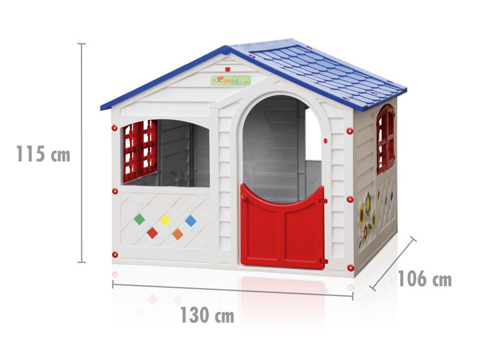 Plastic playhouse for kids outdoor garden farm Grand Soleil CASA MIA