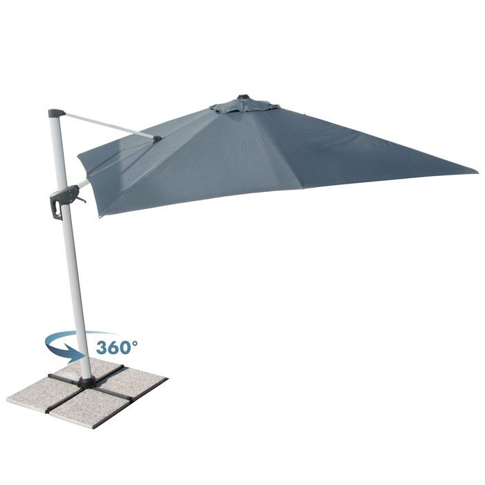Incluida base a cruz de metal bases de hormig n no for Recambio tela parasol 3x3