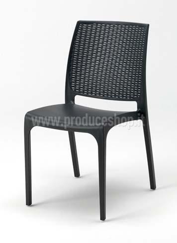 sedie bar polyrattan intrecciato