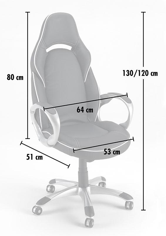 Silla de oficina deportiva sillòn gaming comoda ergonomica racing CLASSIC