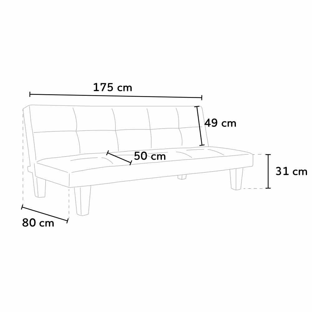 sofa topazio