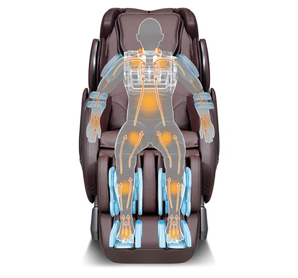 poltrona massaggio completo