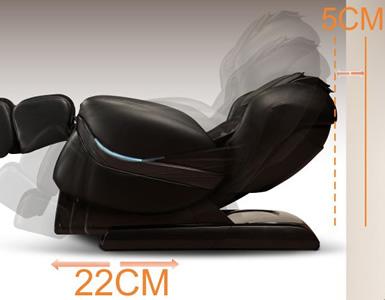 misure poltrona massaggiante
