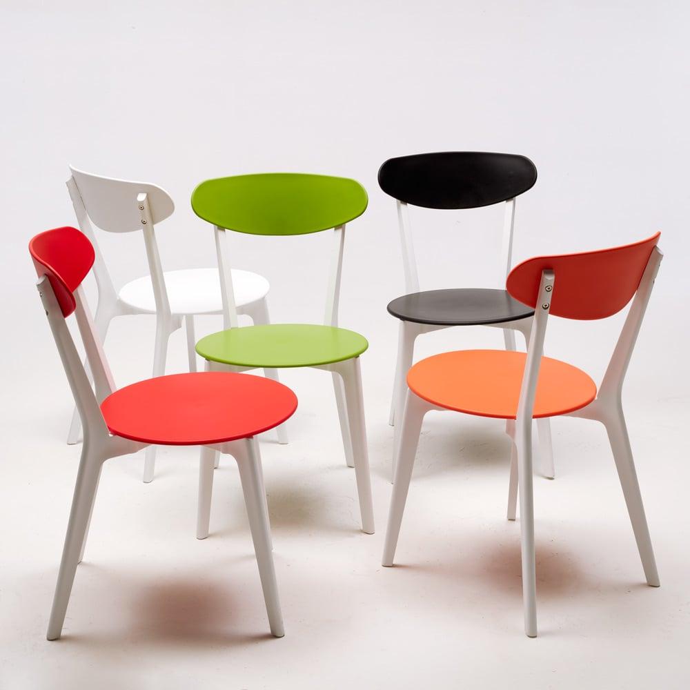 Sedie cucina design sedia design da cucina in plastica - Sedie per cucina ...